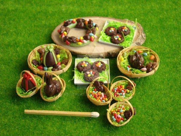 Easter Miniatures by PetitPlat