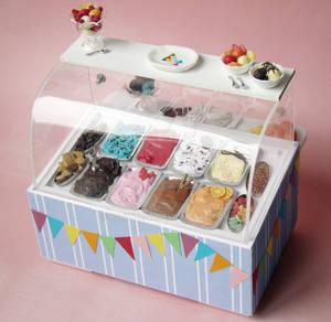 Miniature Ice Cream Display 1