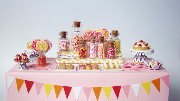 Candy Dessert Table - 3 by PetitPlat