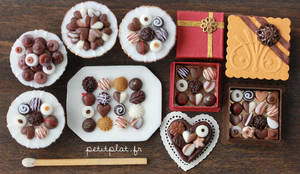 Chocolate and Pralines - 1