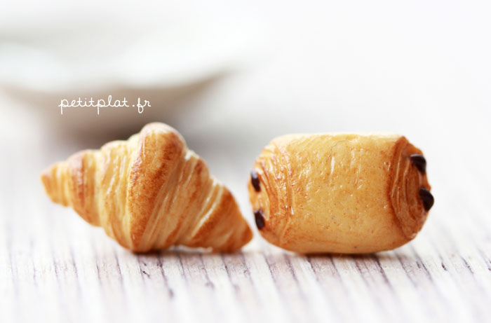 Croissant Earrings by PetitPlat