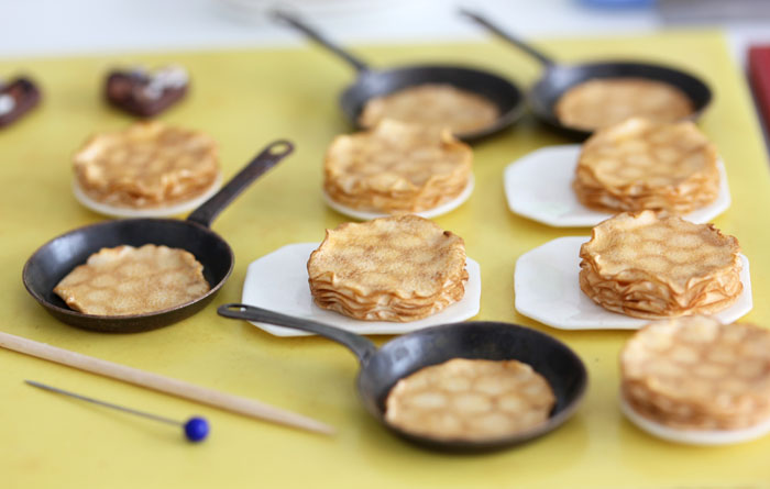 Work in Progress - Miniature Crepes by PetitPlat