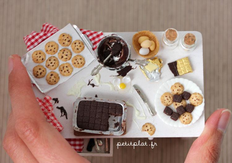 Miniature Baking Day Table   Size By PetitPlat ...