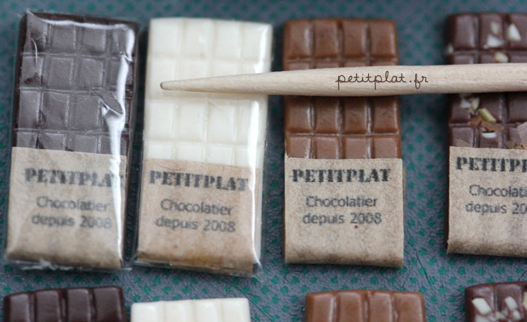 Very Small Chocolate Bars by PetitPlat