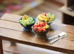 Miniature Fruit Bowls