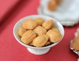 Miniature Madeleines by PetitPlat