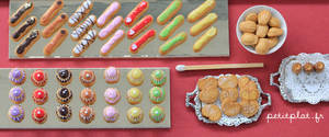Pastry and a Matchstick by PetitPlat