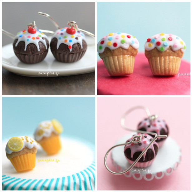 Cupcake Jewelry in June :) by PetitPlat
