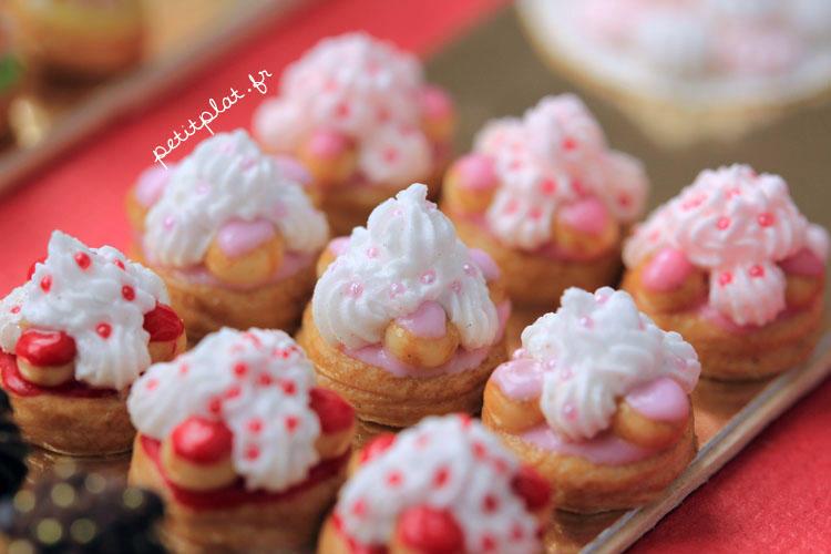 Miniature Food - Saint Honores by PetitPlat