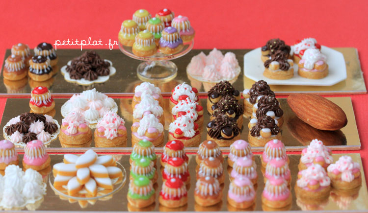 Miniature Food - Pastry with an Almond by PetitPlat