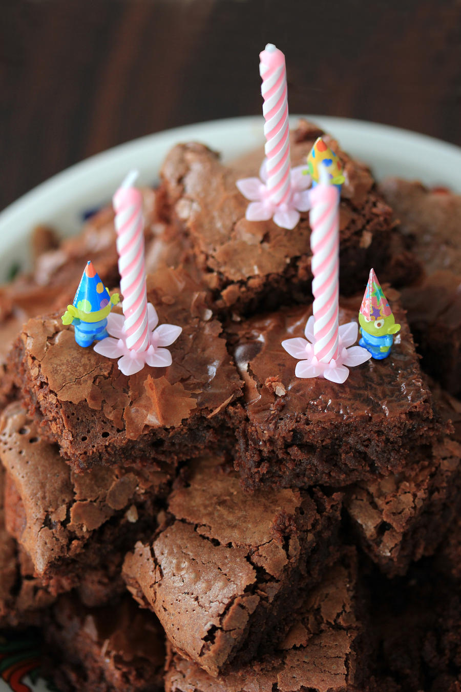 Birthday Brownies by PetitPlat