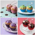 New Cupcake Earrings by PetitPlat