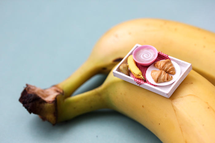 Give-Away!! Miniature Breakfast Tray by PetitPlat
