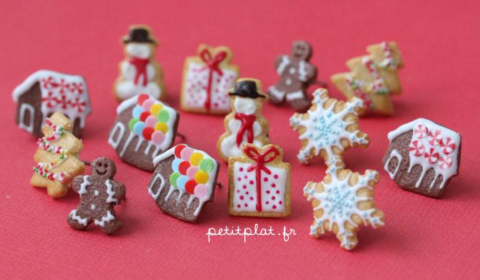 Christmas Earrings 2012 by PetitPlat