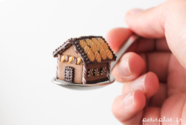 Chocolate GingerBread House 2012 by PetitPlat