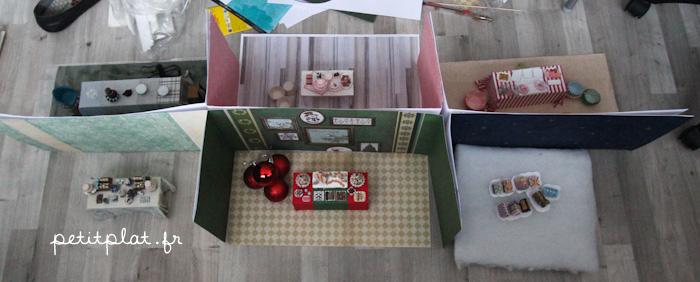 Hong-Kong Exhibit - 6 rooms for 1 cabinet by PetitPlat