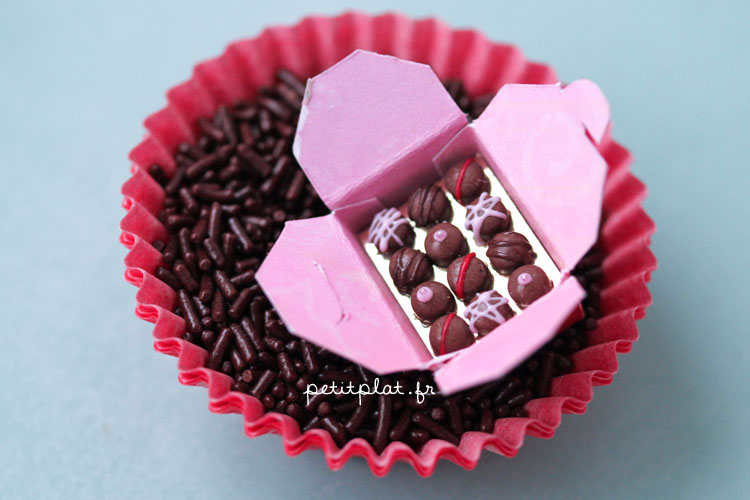 Pralines Box and Chocolate Sprinkles by PetitPlat