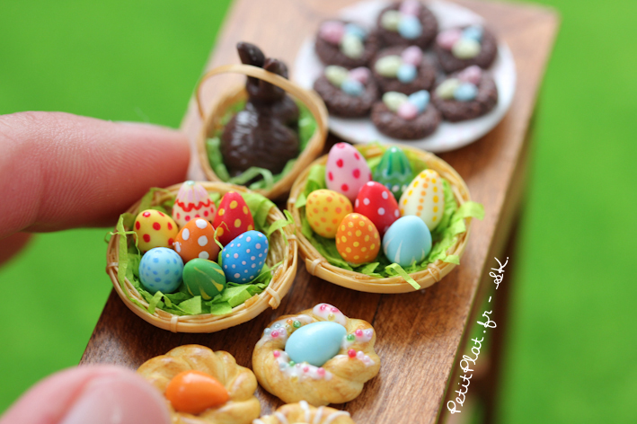 Happy Easter in Miniature by PetitPlat