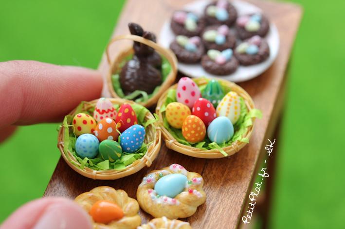 Happy Easter in Miniature by PetitPlat