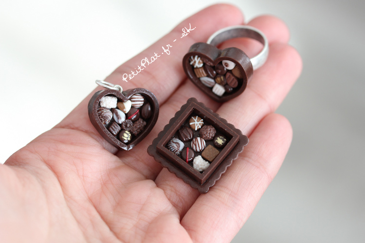 Chocolate Boxes on My Hand by PetitPlat