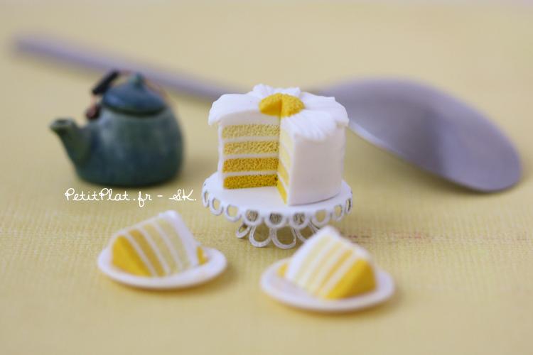 Cake FlowerPaquerette 4 by PetitPlat