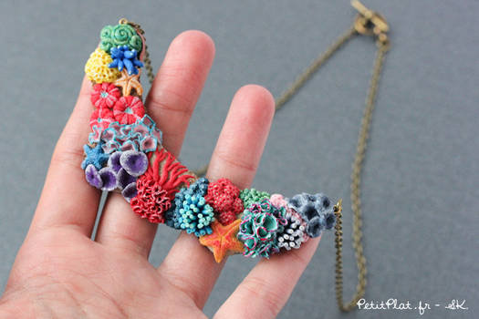 Miniature Corals Jewelry - Necklace