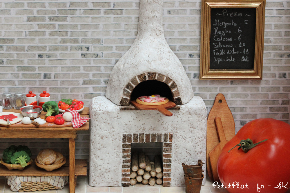 Mercredi Miniature - Pizza Night by PetitPlat