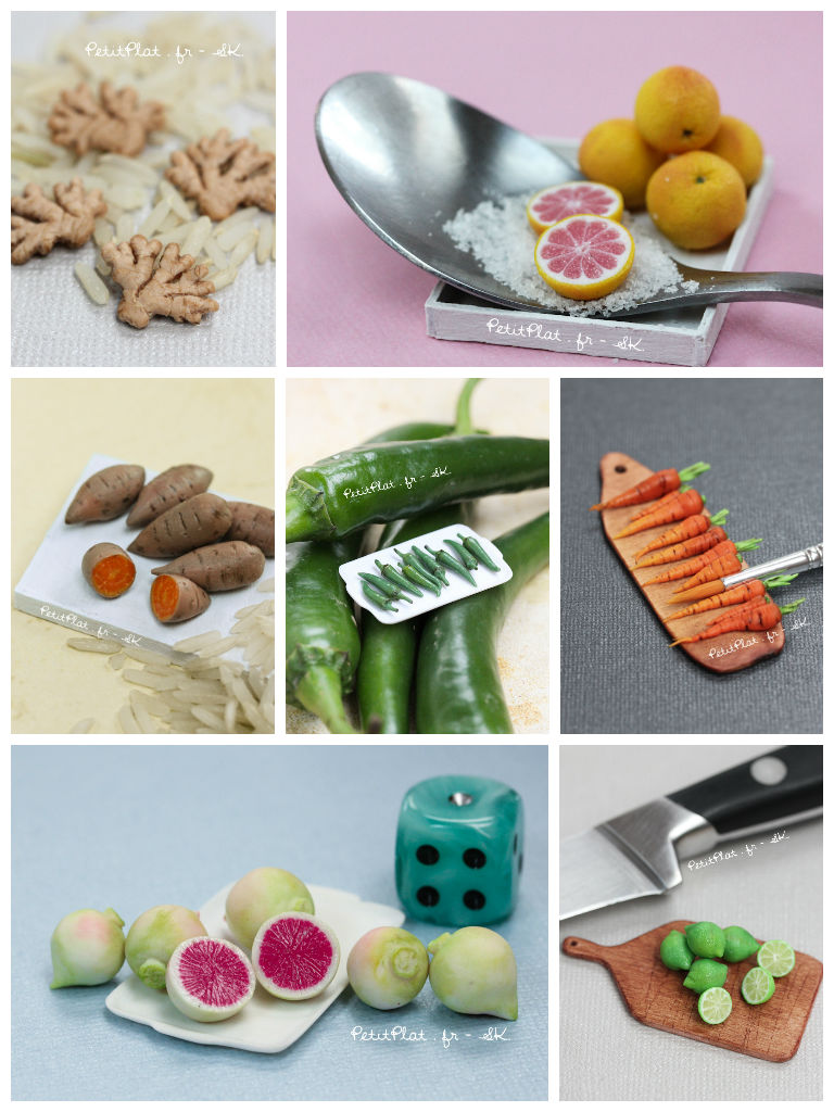Daily Miniature Veggies Challenge by PetitPlat