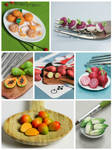 Week 3 of Daily Miniature Veggies and Fruits