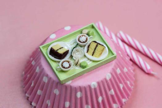 Miniature Patisserie Tray