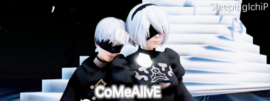 3d mmd nier automata 2b gets fucked in cakeface 10