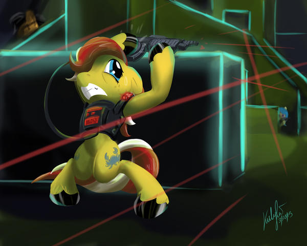 Laser-Tag, You're It! by Zene