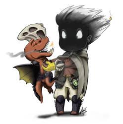 Monster Babysitter: Anjanath by Zene