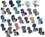 Shark Waves  X Caballeron Family Tree by DudleyBrittany1399
