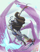 TMNT Tournament Fighters - Aska by leopoldio