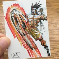 Fightober Day 8: Joe Higashi by leopoldio