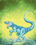 Laugh like a Dinosaur Chick