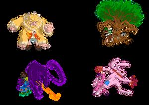 Les Rois de l'Imaginaire - Main Cast