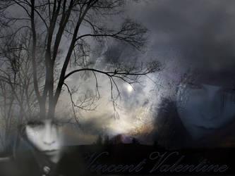 Vincent Valentine Wallpaper by vampire-chic
