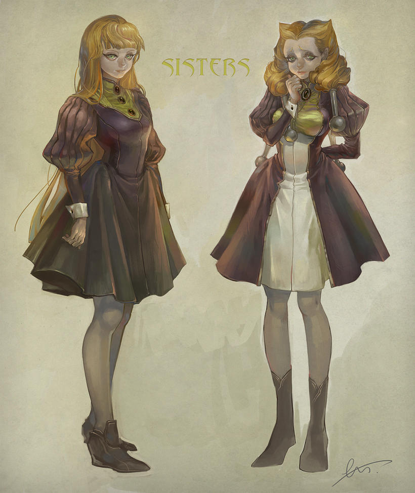two sisters by huanGH64