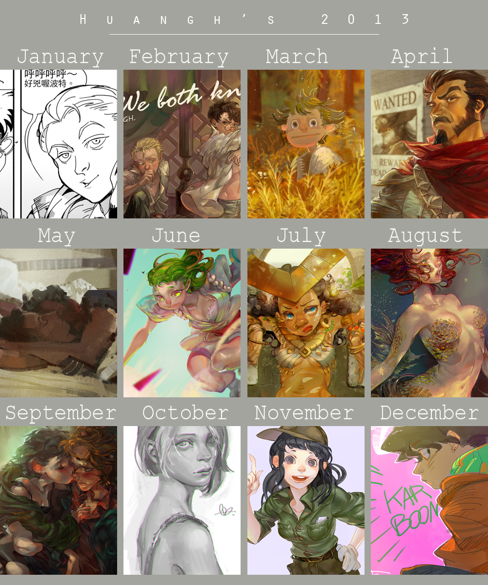 2013Year in Review by huanGH64