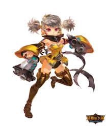 Gunner / female by huanGH64