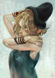 Rock girl by huanGH64