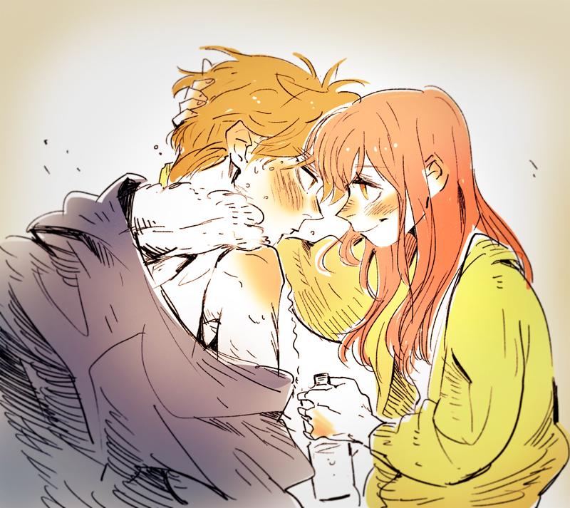 Sana and Akito by huanGH64
