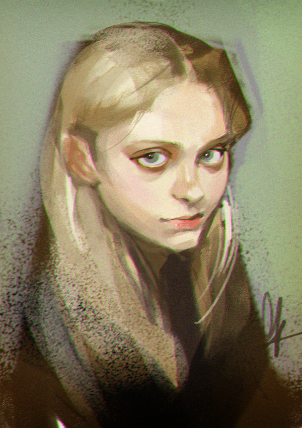 photo study - girl by huanGH64