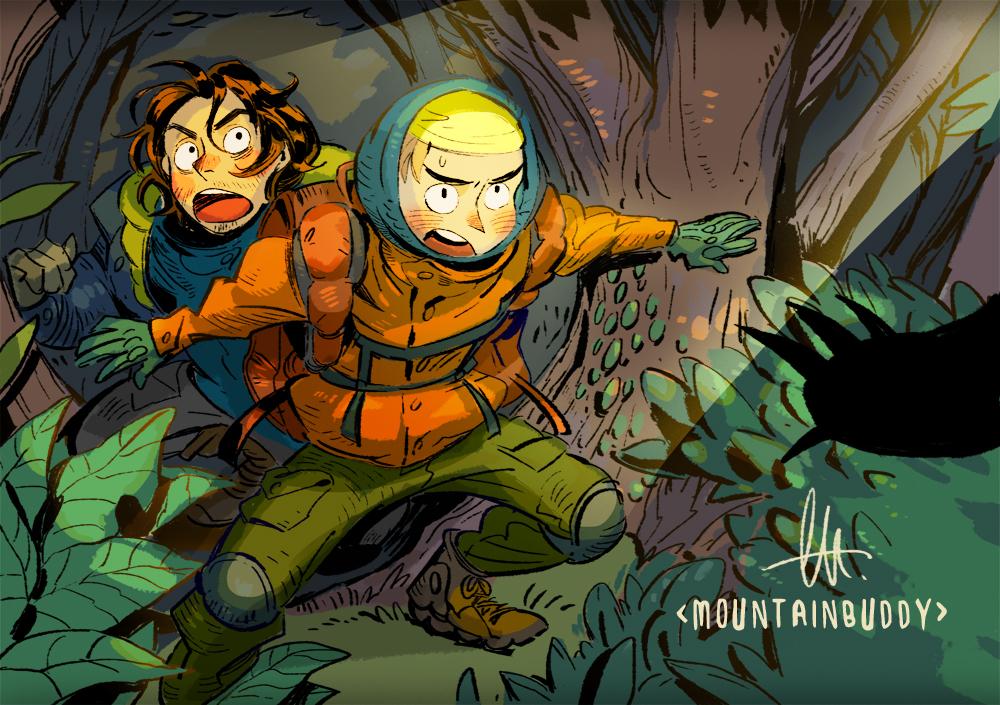 Mountain Buddy by huanGH64