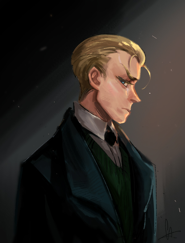 angry Draco by huanGH64