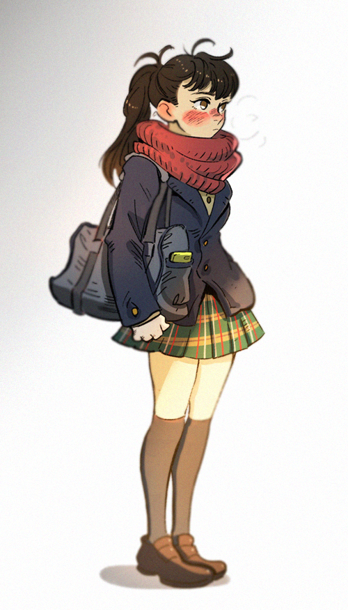 High school girl by huanGH64