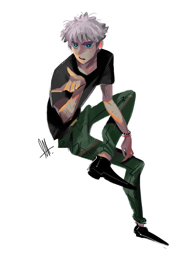 Killua by huanGH64