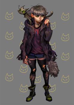 Meow Meow girl
